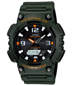 CASIO STANDARD AQ-S810W-3AV Analog Digital Watch | Solar World.T