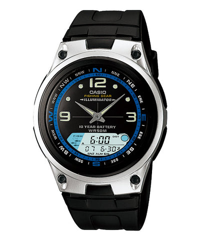 CASIO STANDARD AW-82-1AV Analog Digital Watch | Fishing.G 10Yrs Batt
