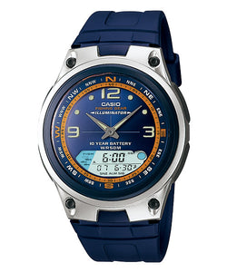 CASIO STANDARD AW-82-2AV Analog Digital Watch | Fishing.G 10Yrs Batt