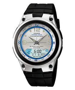 CASIO STANDARD AW-82-7AV Analog Digital Watch | Fishing.G 10Yrs Batt