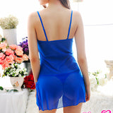 187050 Charming Babydoll + G String (Including Blue Gown)