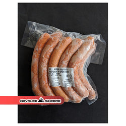 MD Sheep Casing  hicken Hot & Spicy Sausage  100gm (1kg/pack)