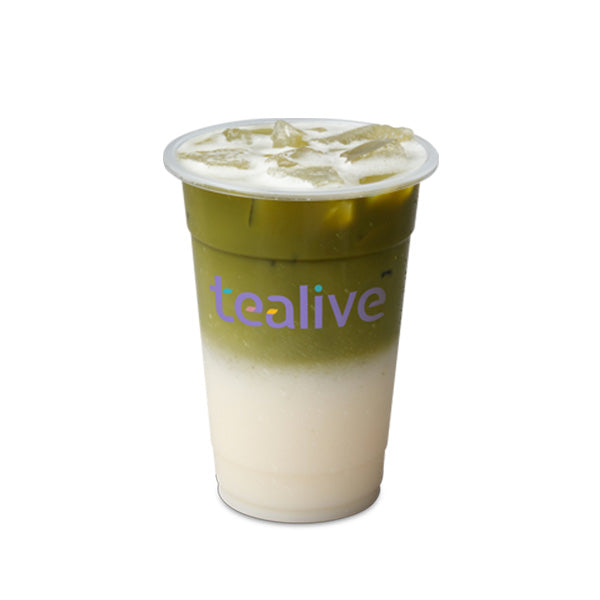 MC04 Vanilla Matcha Tea Latte
