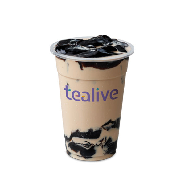 MT03 Classic Roasted Milk Tea With Grass Jelly