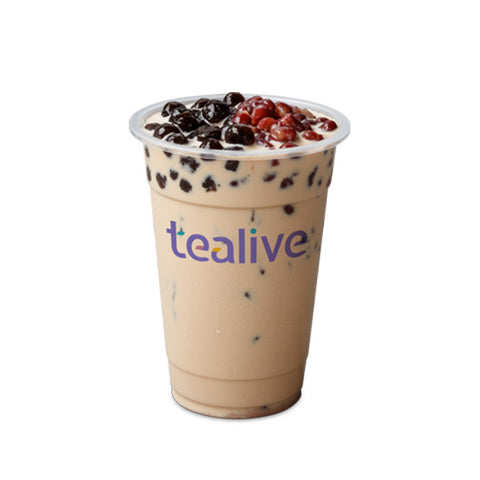 MT04 Red Bean Pearl Milk Tea