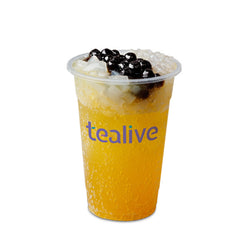 SFT03 Sparkling Passion Fruit Tea With Chia Seed/3Q Jelly