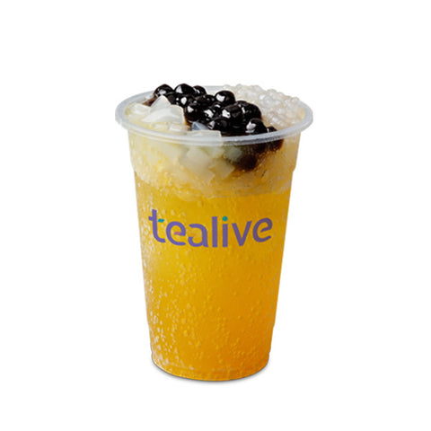 SFT02 Sparkling Passion Fruit Tea With Chia Seed/3Q Jelly
