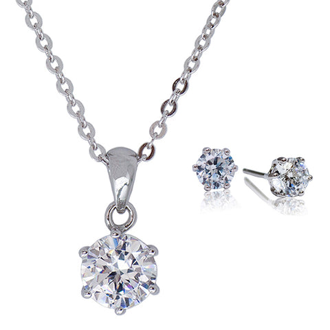[Kelvin Gems] 6 Prong Solitaire Gift Set