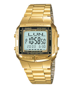 CASIO DATA BANK DB-360G-9A Digital Watch | 30 Telememo 10 Yrs Batt.