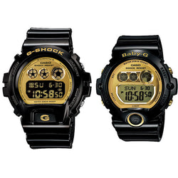 CASIO G-SHOCK BABY-G DW-6900CB-1 & BG-6901-1 Couple Watch