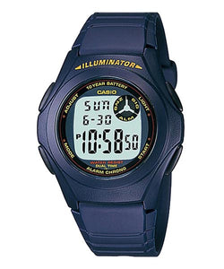 CASIO STANDARD F-200W-2A Digital Watch | Classic Simple Young Design