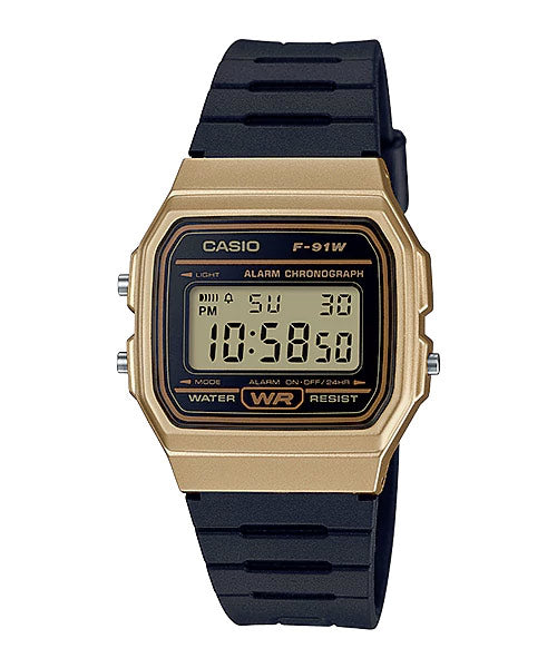 CASIO STANDARD F-91WM-9A Digital Watch | Classic Since 1991 Calendar