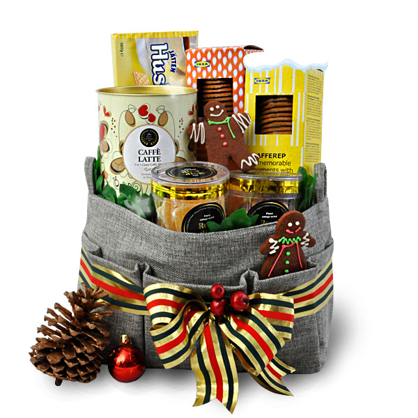 [1Day Pre-Order] ALMOGIA CHRISTMAS - FOOD HAMPER WITH GINGER THINS