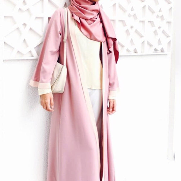Abaya Mawaddah (Light Purple)