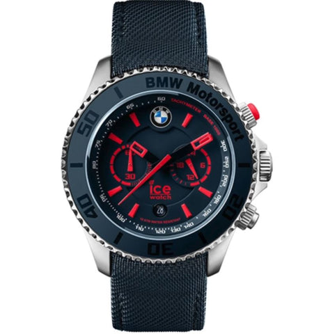BMW  Motorsport  Steel - Blue & Red - Big Big - Chrono