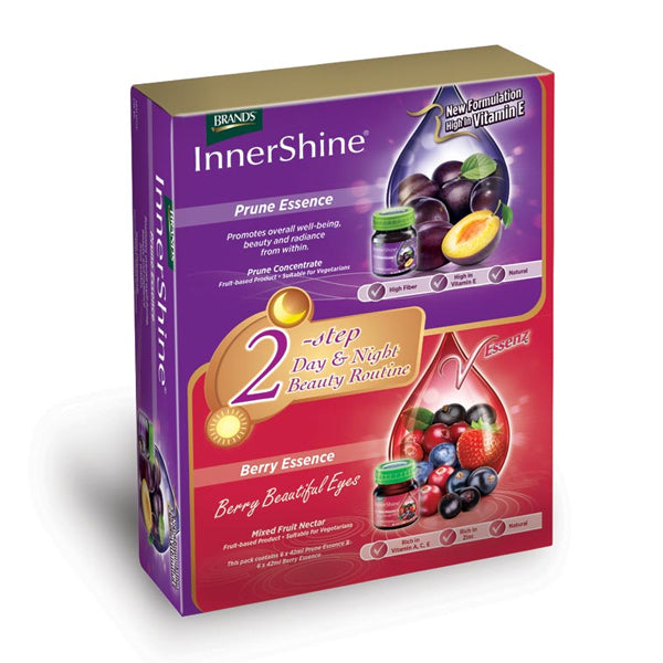 BRANDS Innershine Prune Essence Day & Night 12sX42ml