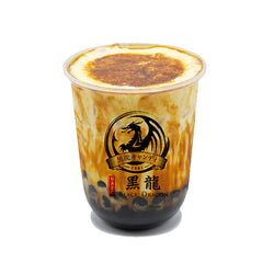 Black Boba Cream Flame
