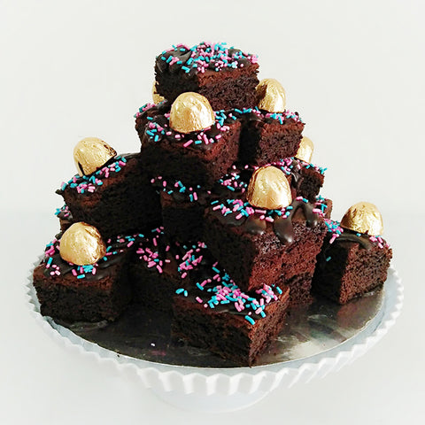 Brownies Pile