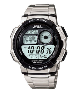 CASIO STANDARD AE-1000WD-1AV Digital Watch | 10 Yrs Batt. WR100M