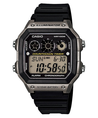 CASIO STANDARD AE-1300WH-8AV Digital Watch | 10Y Batt. Interval.T