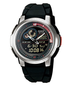 CASIO STANDARD AQF-102W-1BV Analog Digital Watch | Thermo. World.T