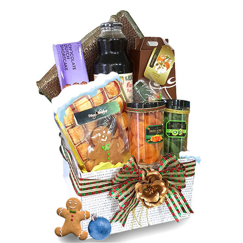 [1Day Pre-Order] COLLINSVILLE XMAS HAMPER BOX - CHRISTMAS JUICE, NUTS, FRUITS
