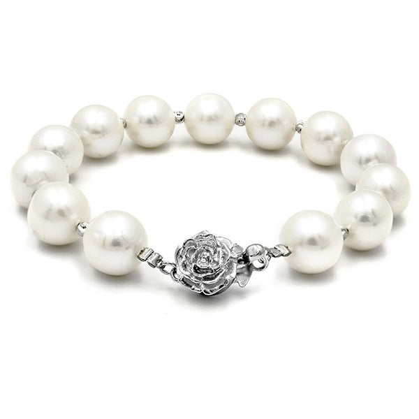 [Kelvin Gems] Classic Casablanca Fresh Water Pearl Bracelet Crafted by Angie