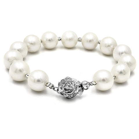 AJ Essential Classic Casablanca Fresh Water Pearl Bracelet Crafted by Angie