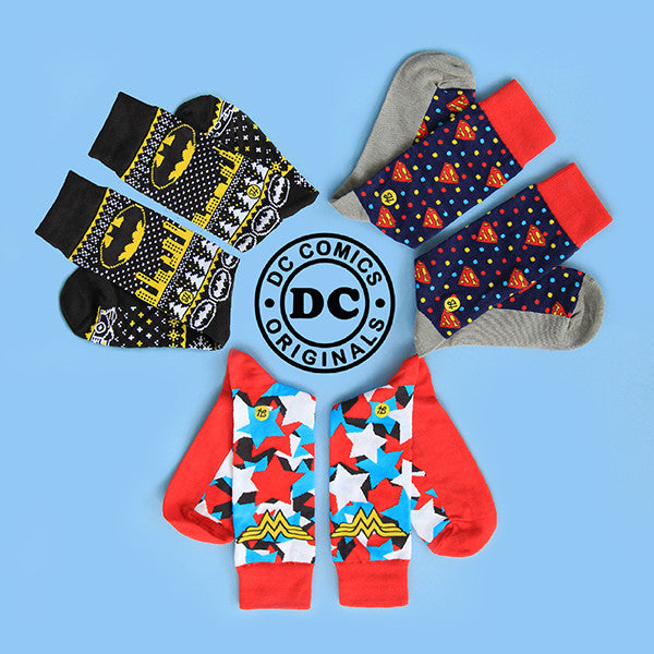 Holisocks DC Comics Collection