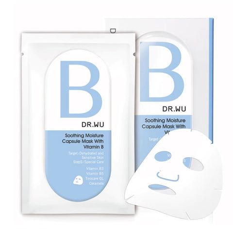 DR. WU Soothing Moisture Capsule Mask with Vitamin B 3's