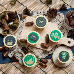 [1 Day Pre-Order] Eid Cupcakes 12 pcs