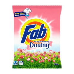 Fab With Freshness Of Downy Powder Detergent 720g