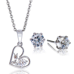AJ Essential Premium Flower Heart Gift Set