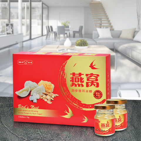 [2 Days Pre-order] (508059) 泡参雪耳冰糖燕窝 American Ginseng with White Fungus & Rock Sugar Bird's Nest