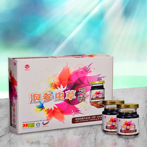 [2 Days Pre-order] (508050) 泡参虫草鸡精 Essence Chicken with American Ginseng & Cordyceps