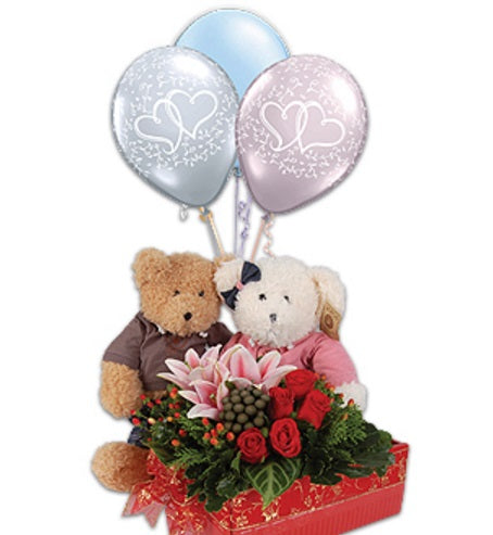 [3 Days Pre-Order] Hugs N Kisses - Flowers Gift Mother's Day