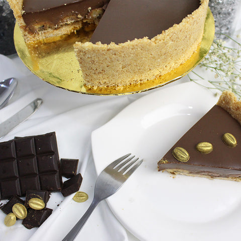 [1 Day Pre-Order] Coffee Chocolate Banana Cheese Cake