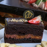 Chocolate Banana Sponge Cake