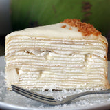 Coconut Mille Crepe Cake