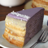 Purple Sweet Potato Crepe Cake