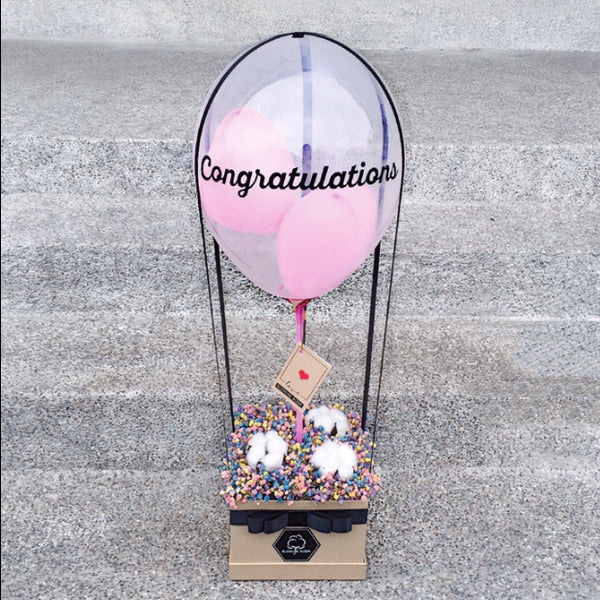 [1 Day Pre-Order] INFINITY LOVE: Balloon & Flower Box
