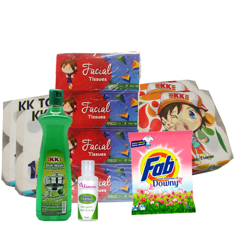 Cleaning Pack set + Hand Sanitizer