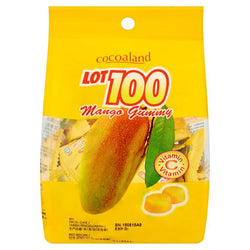 Lot 100 Gummy Mango 150G