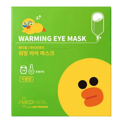 MEDIHEAL Citrus Warming eye mask 10's