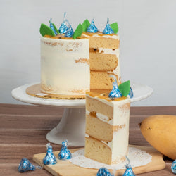 Mango Passion Butter Cake