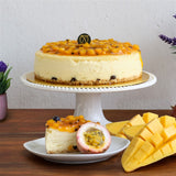 Mango & Passion Fruit Cheese Cake