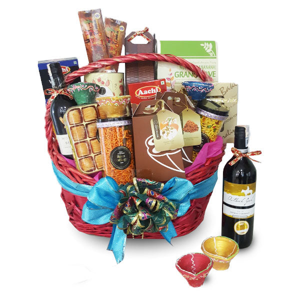 [1 Day Pre-Order] NAMPIKKAI DIWALI HAMPER - DEEPAVALI INDIAN FOOD BASKET