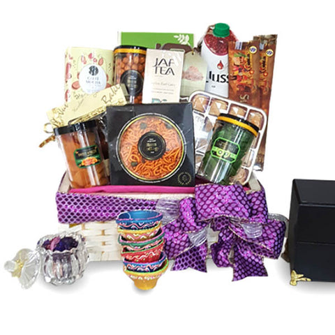 [1 Day Pre-Order] NEMAI DIWALI INDIAN HAMPER - DEEPAVALI BASKET