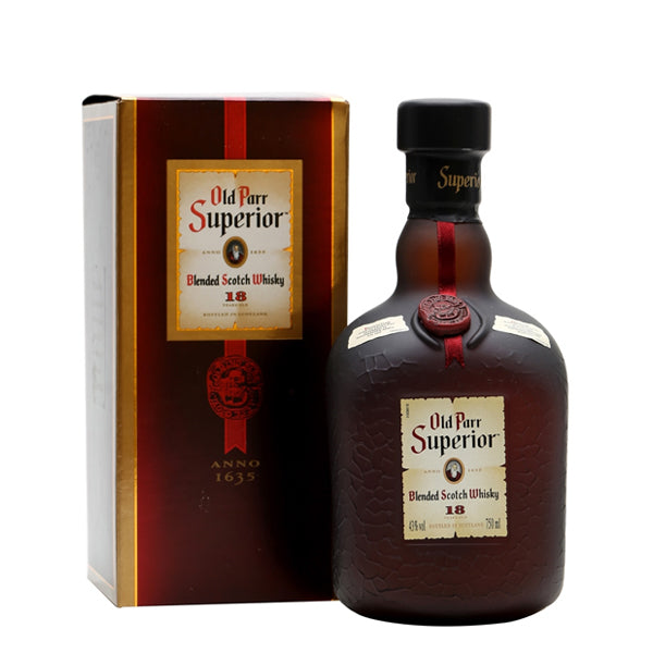 Blended Whisky - Old Parr Superior 18 years