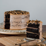 [1 Day Pre-Order] Peanut Chocolate Cake